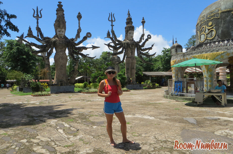 Сала Кеоку или Будда парк в Нонг Кхае, Таиланд. Обязателен к посещению