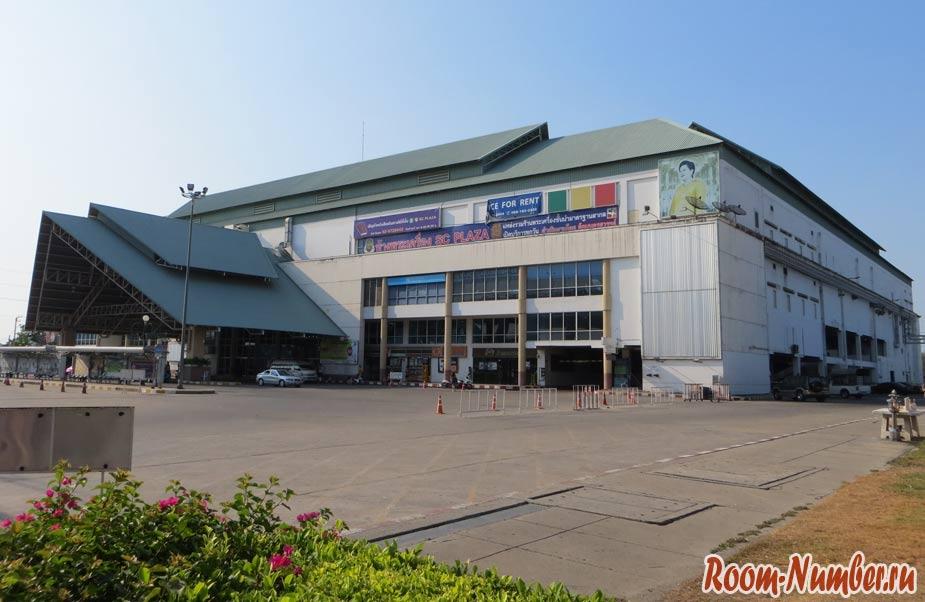 Southern Bus Terminal Бангкок Южный автовокзал Сай Тай Май