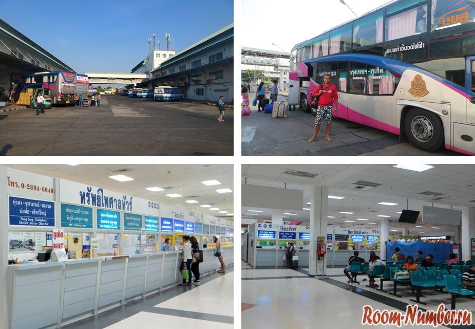 Southern Bus Terminal Bangkok Sai Tai Mai