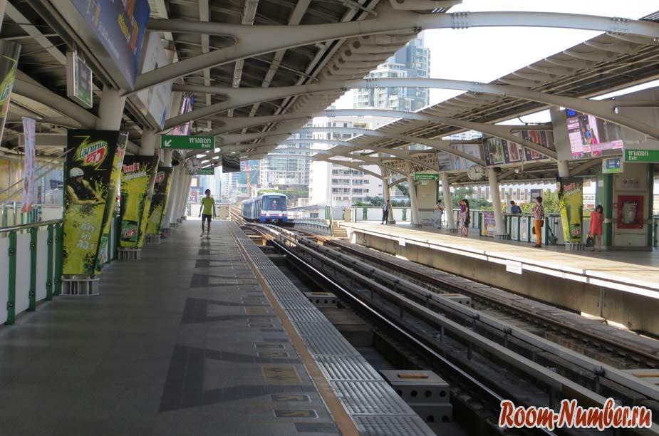 наземное метро в бангкоке бтс