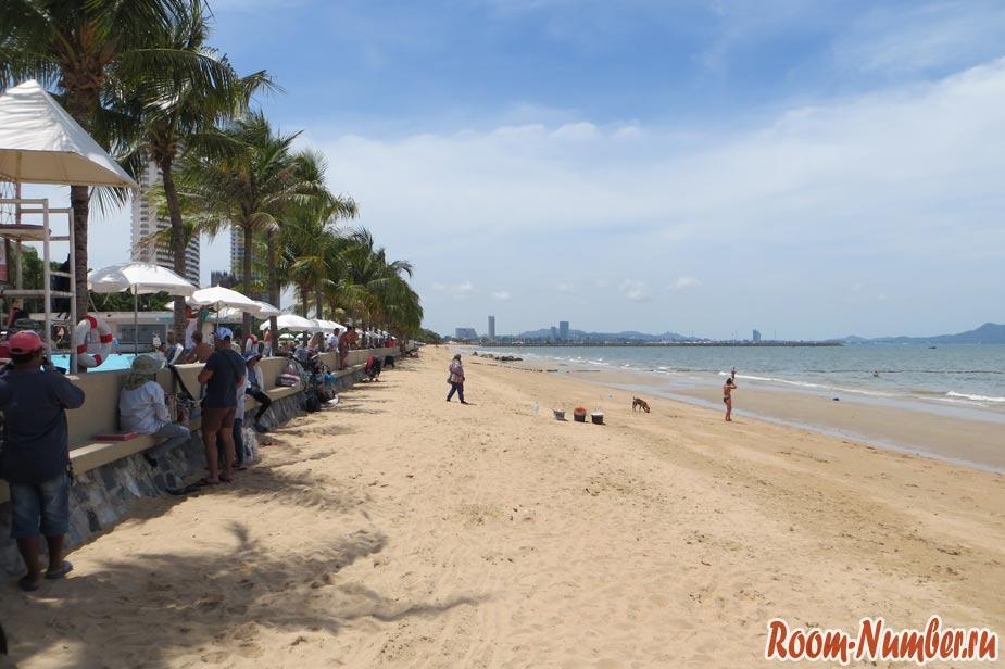 пляж амбассадор левая часть