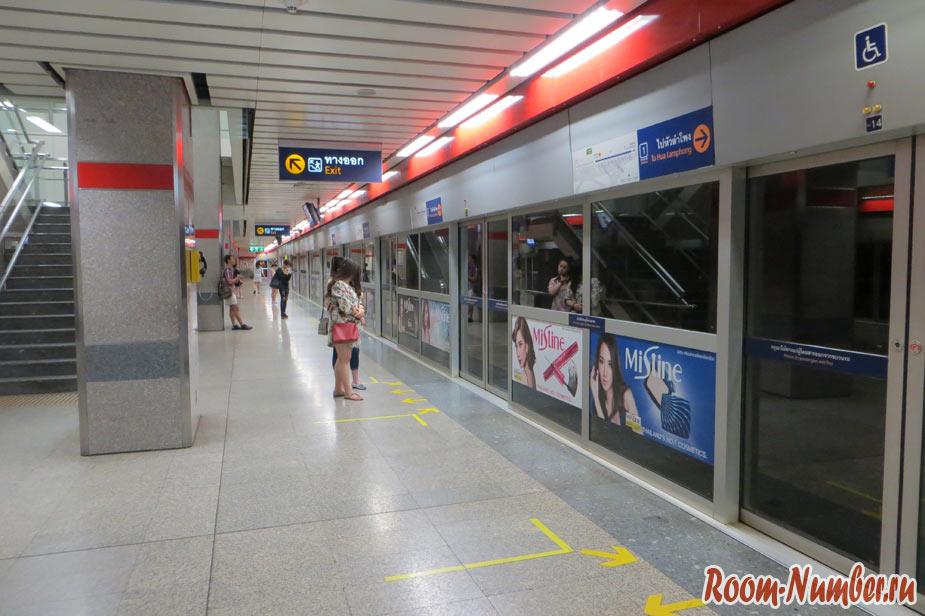 фото метро в бангкоке