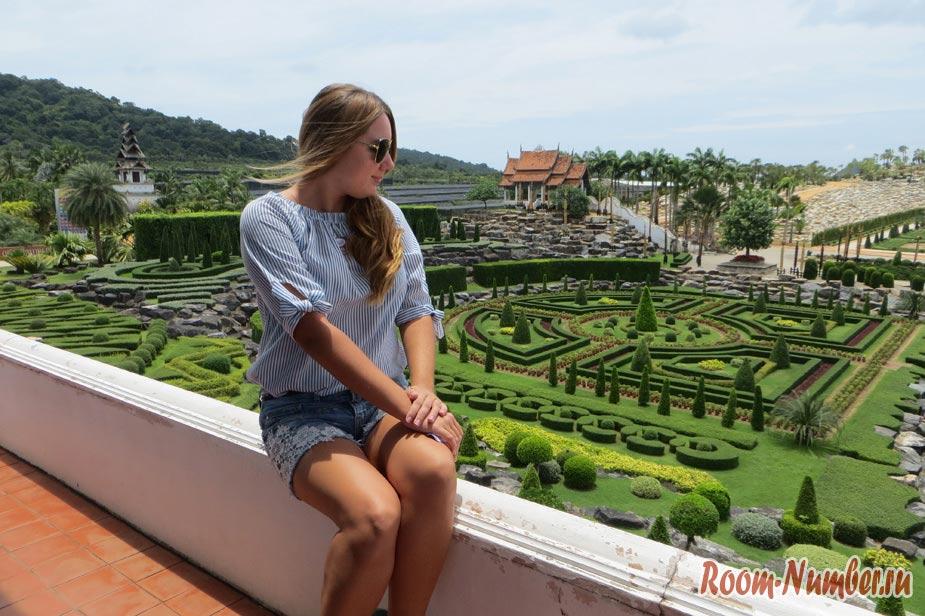 Версальского сад в Нонг нуч паттайя