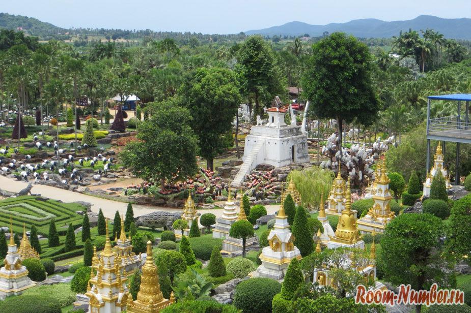 Версальский сад в нонг нуч