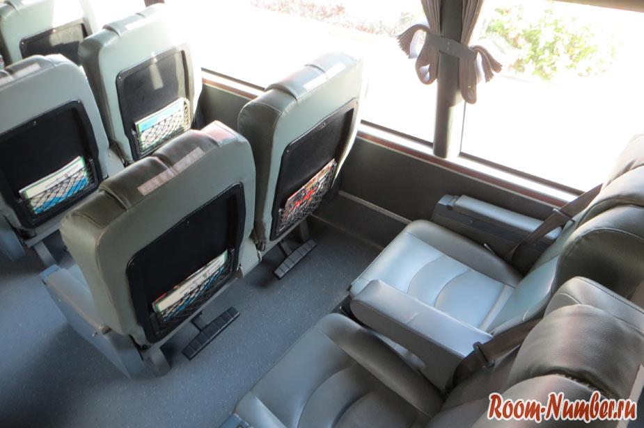 pattaya hua-hin салон автобуса