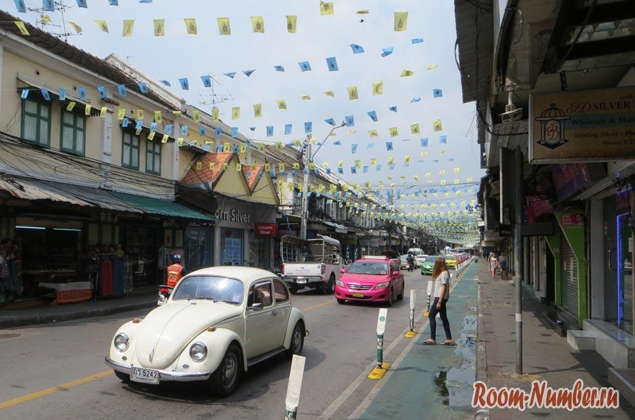 улица као сан в бангкоке