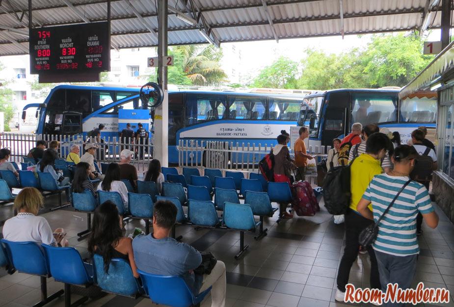 Паттайя — Бангкок: как добраться. Коротко о главном: автобус, минибас, такси