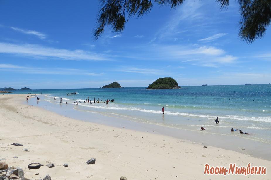 пляж нанг рам саттахип бич в паттайе