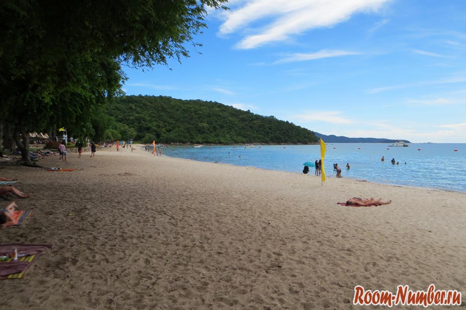 пляжи паттайи с чистой водой военный пляж сай кео бич