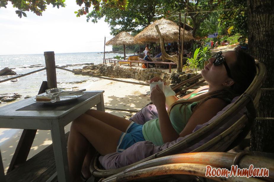 Наши солнечные денечки в Камбодже или наш типичный день в Сиануквиле