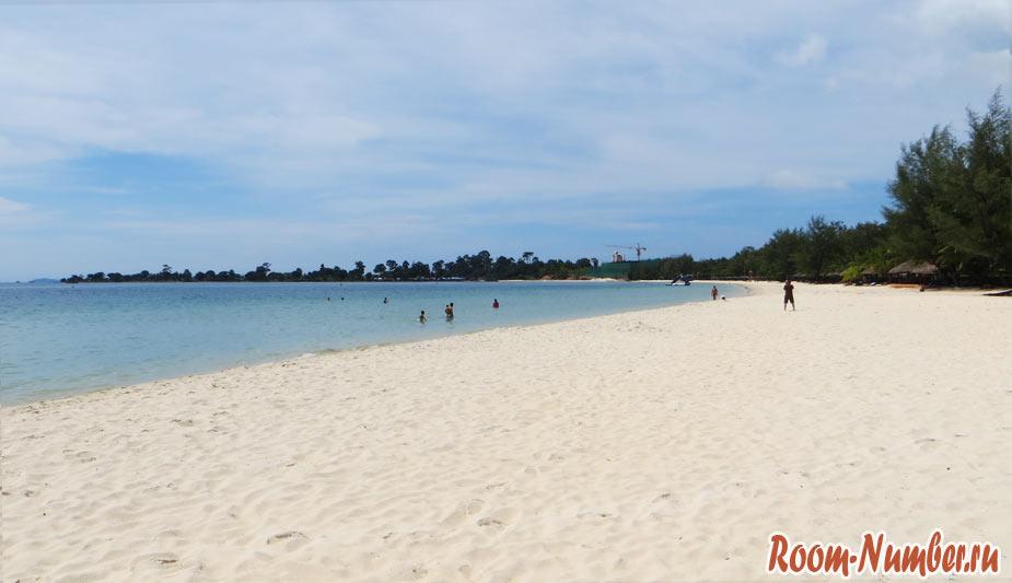 пляж соха в сиануквиле