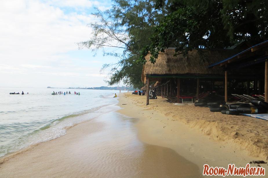 пляж гавайи камбоджа сиануквиль