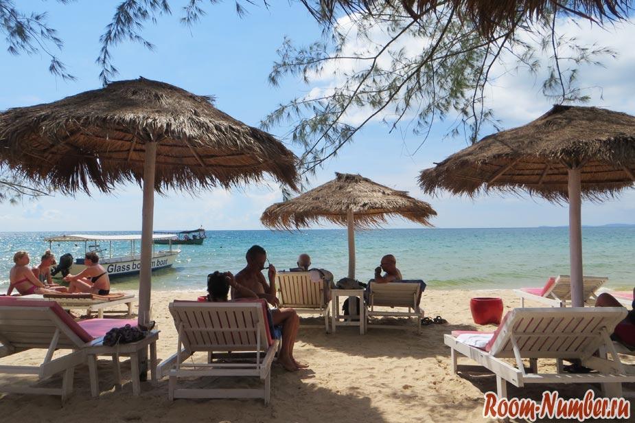 пляж отрес в сиануквиле камбоджа