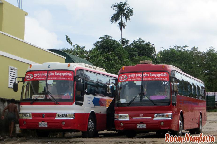 Сием Рип — Сиануквиль: такси, самолет или автобус. Как лучше доехать