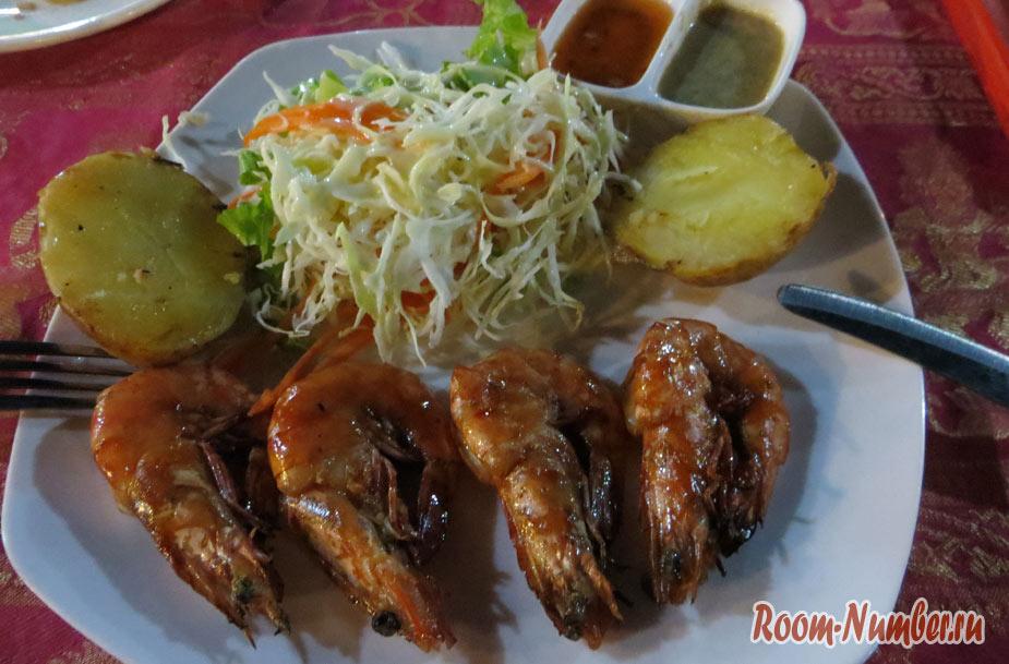 Цены на еду в Сиануквиле