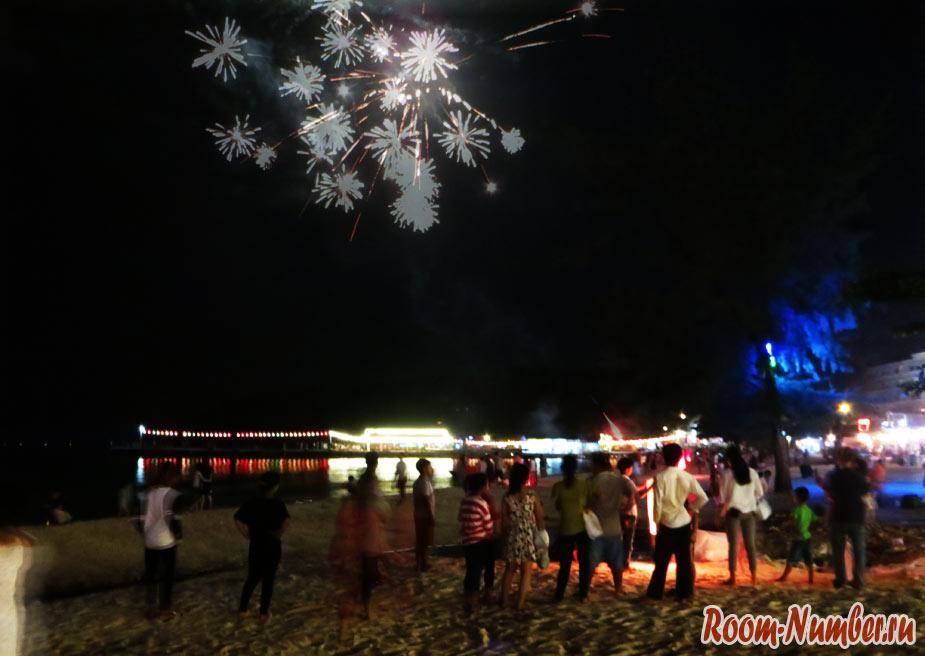 Водный фестиваль в Камбодже. Сегодня большой праздник в Сиануквиле