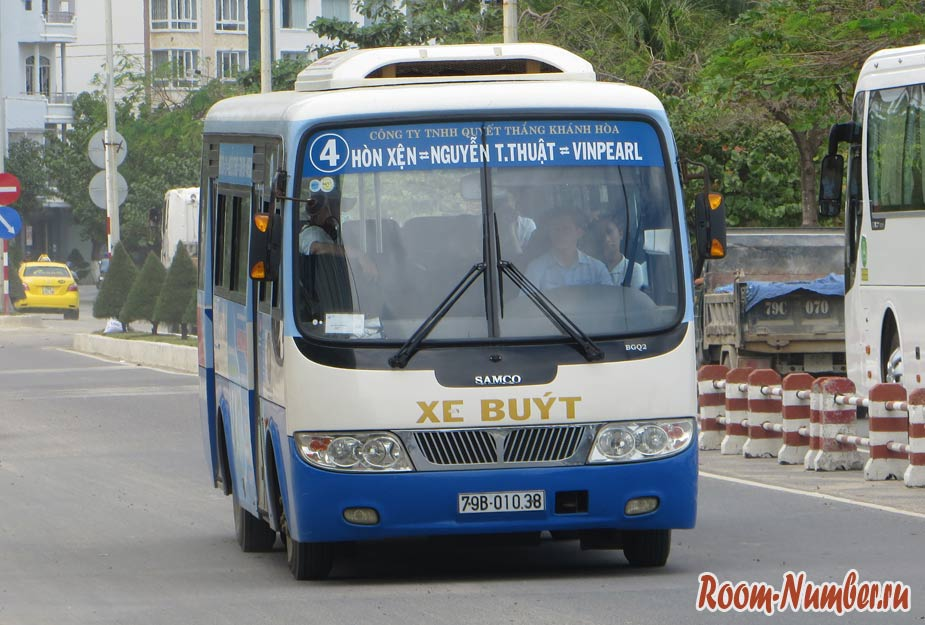 Автобусы в Нячанге. Схема маршрутов и как куда добраться