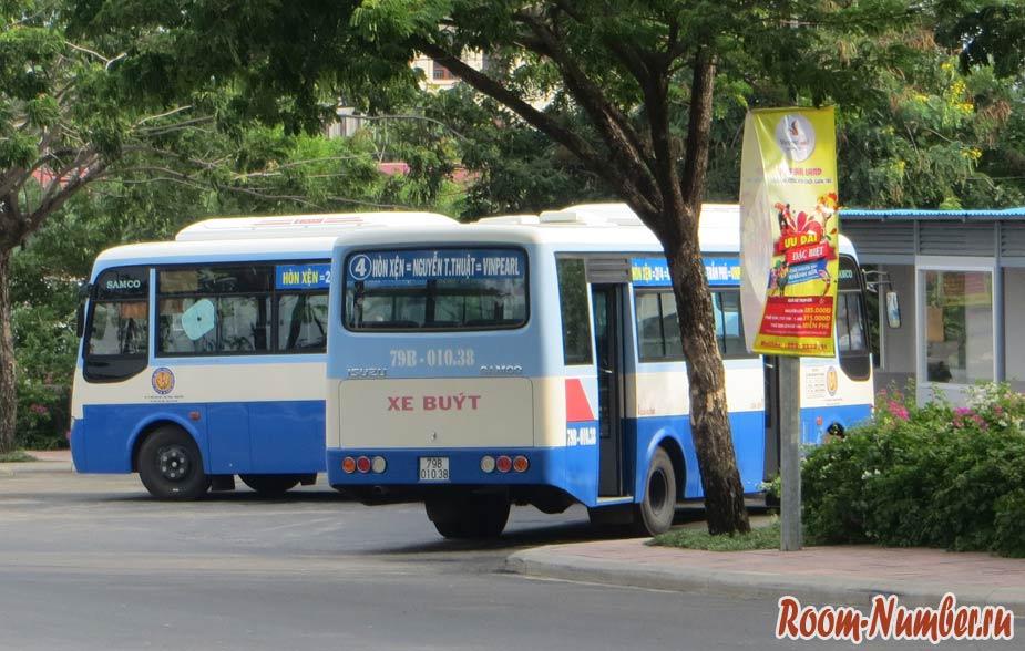 автобус 4 в нячанге