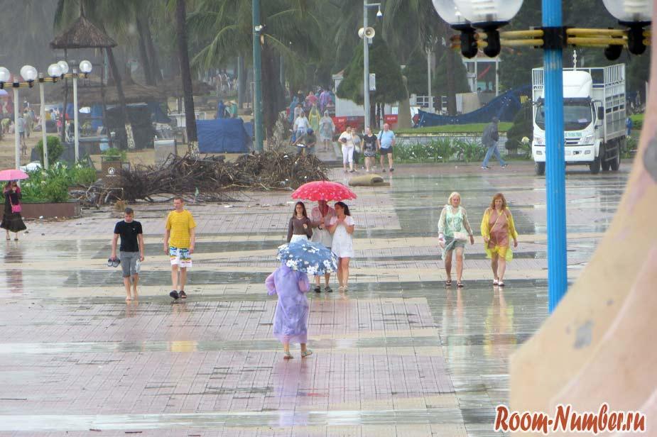 дождь в нячанге