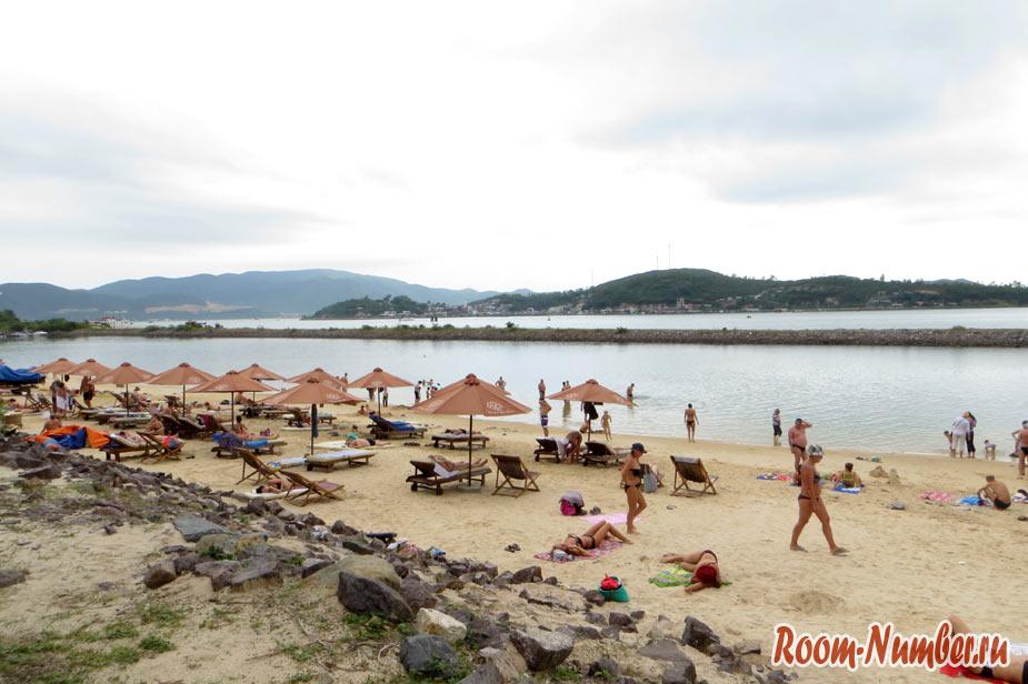 Пляж Парагон в Нячанге — пляж без волн. Как добраться самостоятельно