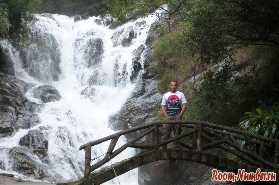 Водопад Датанла в Далате и спуск на санях через джунгли