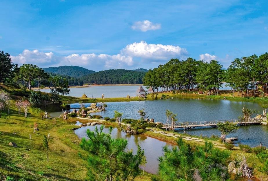 Золотая долина. Далат, Вьетнам