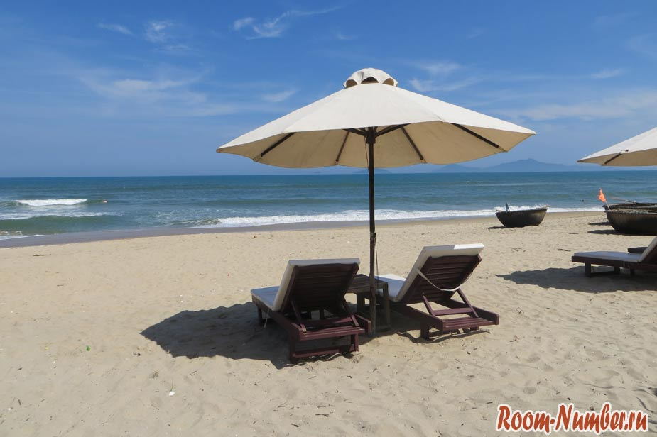 фото хойан пляж