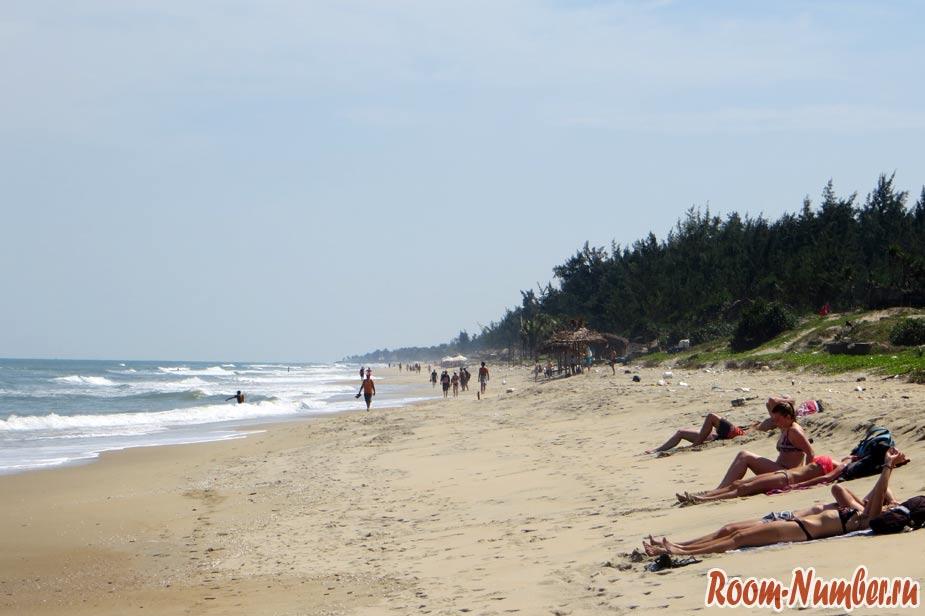 пляж hoian