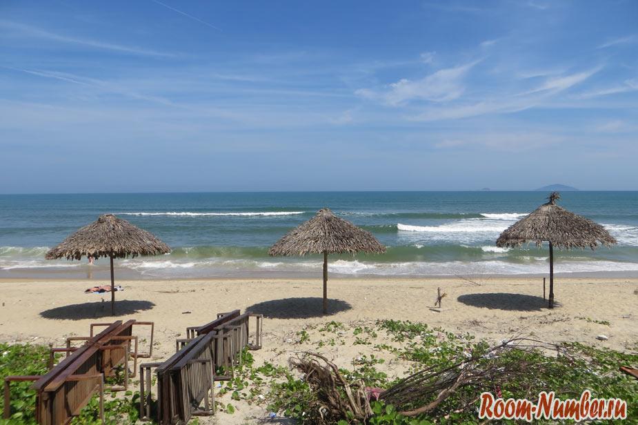 пляж хойан фото