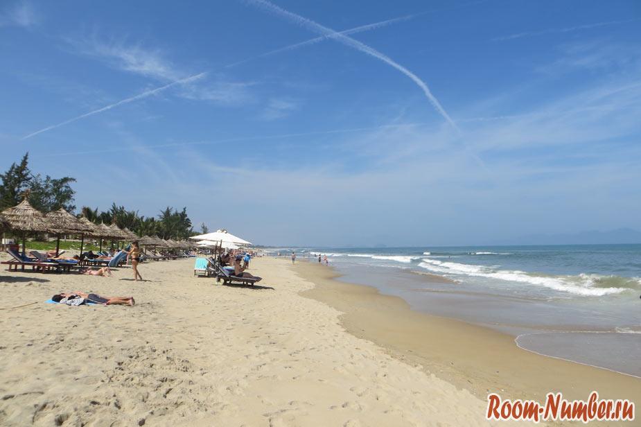 фото пляжа в хойане