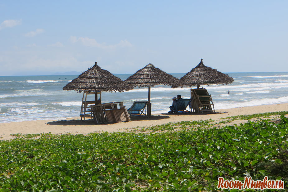 пляжи дананга