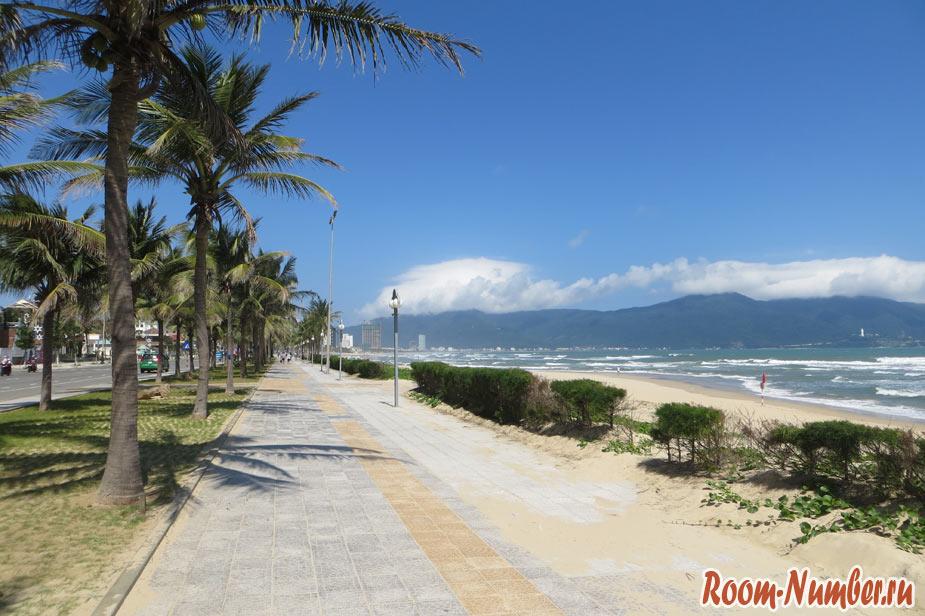 вьетнам дананг пляжи