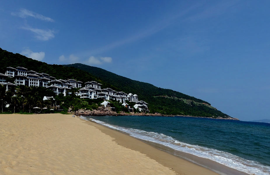 пляж интерконтиненталь дананг