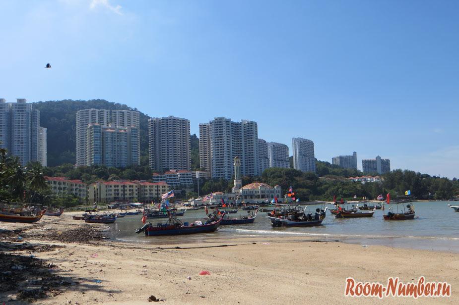Пляж Танджунг Бунгах Пенанг