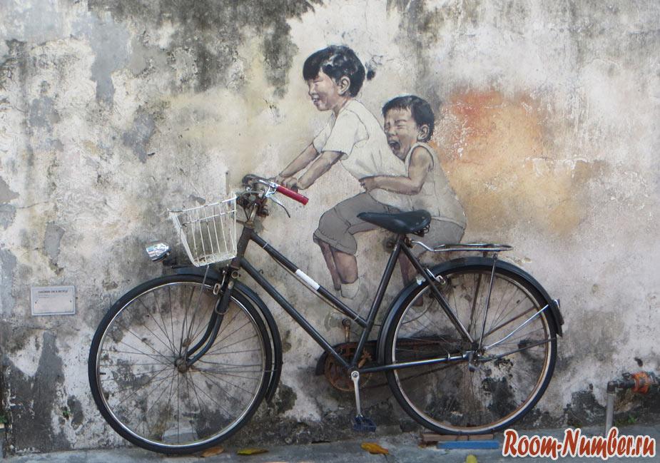 Джорджтаун, Малайзия, Пенанг. Фото, достопримечательности и граффити