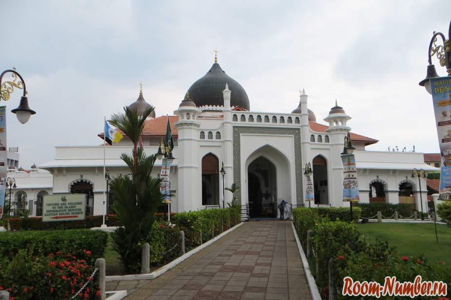 мечеть в джорджтауне