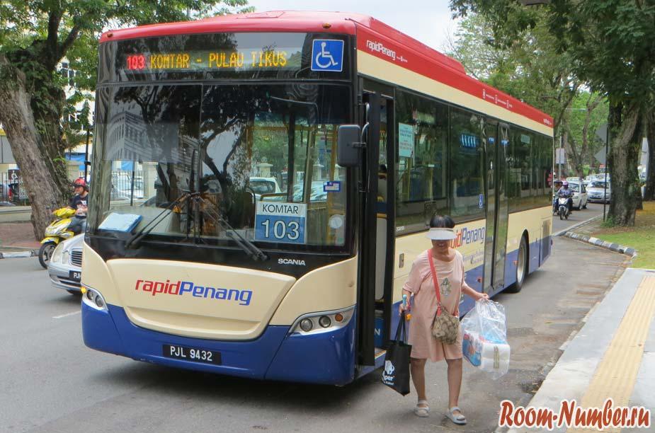 Автобусы на Пенанге. Схема маршрутов, цены и особенности общественного транспорта