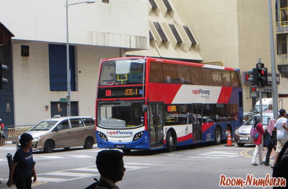 автобус 101 пенанг