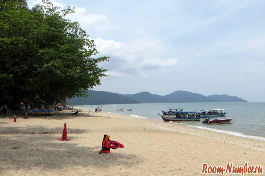 Пляж Бату Ферринги, Пенанг (Batu Ferringhi beach)