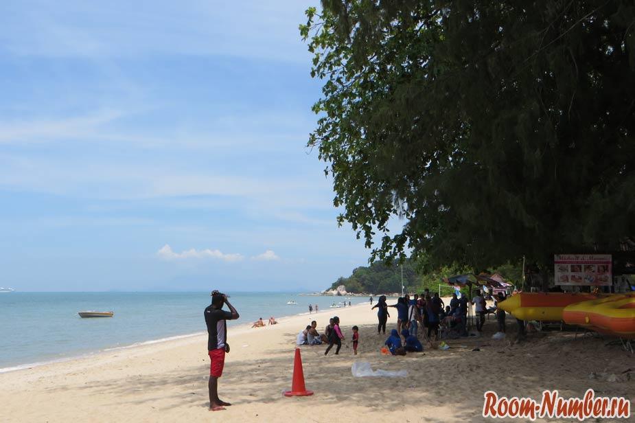 пенанг пляж batu ferringi