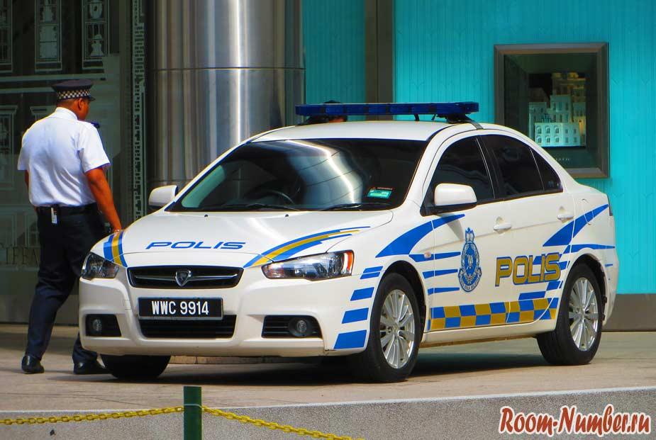 полиция в малайзии
