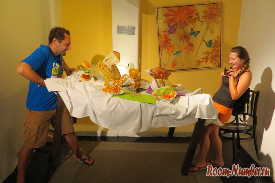 Музей еды на Пенанге. На голодный желудок не смотреть!