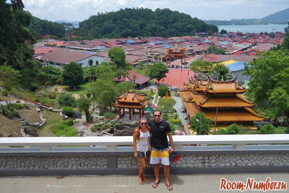 китайский храм на пангкоре