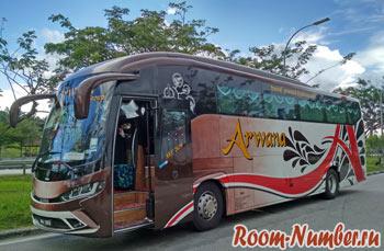 автобус из куала лумпур на pangkor island