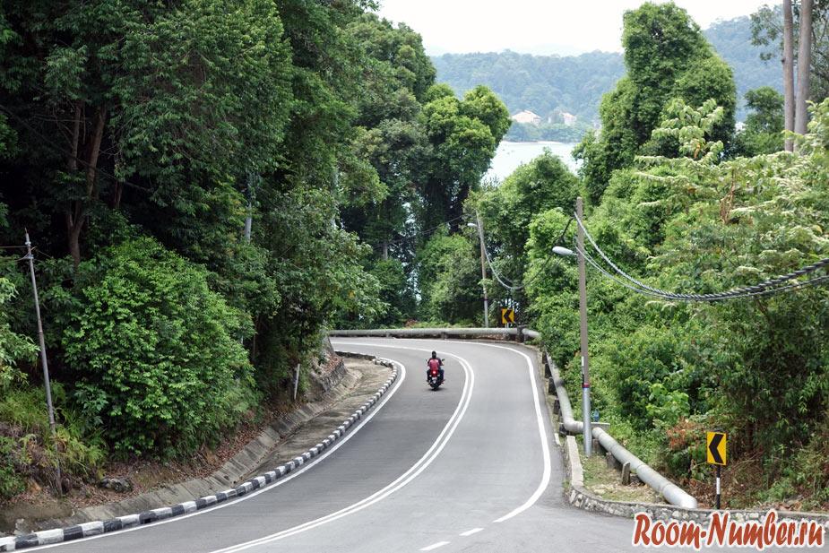 фото дороги на острове пангкор