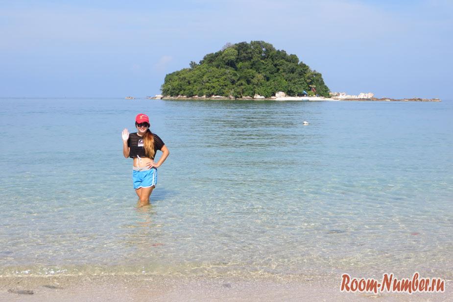 Катя блог рум намбер на острове Пангкор в Малайзии