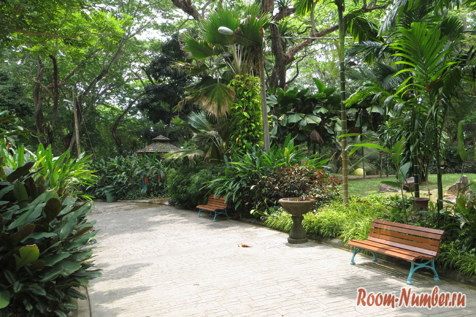Youth Park. Парк для отдыха местных жителей на Пенанге