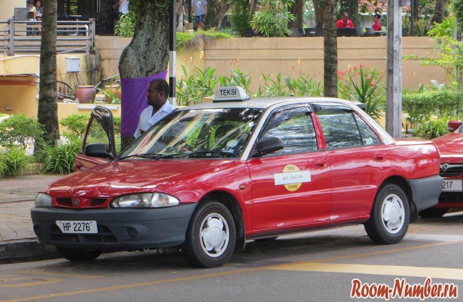 такси на пенанге