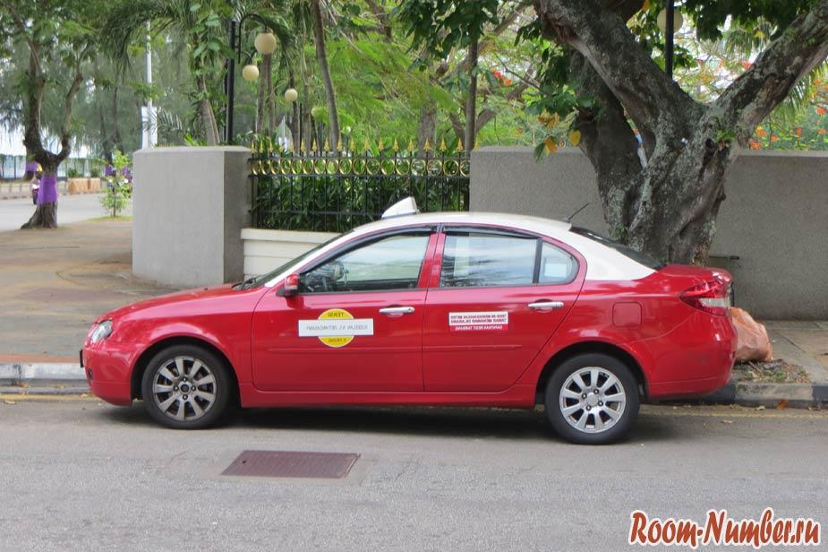 такси на пенанге из аэропорта