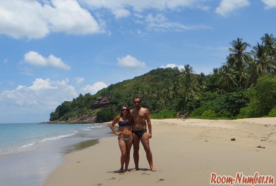 Дикий пляж на Ко Ланте. Секретный нудистский пляж Nui beach